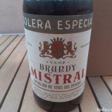 Coleccionismo de vinos y licores: BOTELLON DE 3LITROS DE BRANDY MISTRAL LA GRANADA. Lote 242840075