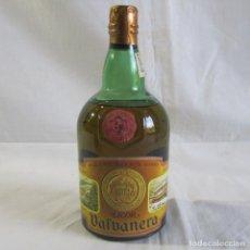 Coleccionismo de vinos y licores: BOTELLA DE LICOR VALVANER MONJES VENEDICTINOS. Lote 243012675