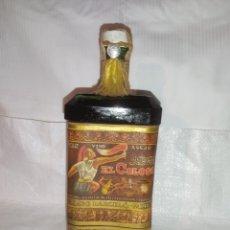 Coleccionismo de vinos y licores: ANTIGUA BOTELLA DE VINO AÑEJO EL COLOSO. Lote 243093150