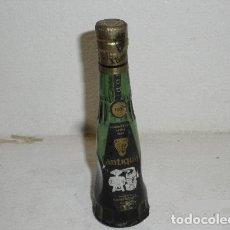 Coleccionismo de vinos y licores: ANTIGUA BOTELLITA CREME DE MENTHE PEPPERMINT - BARDINET. Lote 244772865