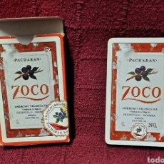 Coleccionismo de vinos y licores: BARAJA ESPAÑOLA CARTAS PACHARAN ZOCO, CONSEJO REGULADOR. Lote 245261790