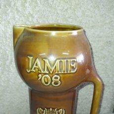 Coleccionismo de vinos y licores: PRECIOSA JARRA DE WHISKY JAMIE.. Lote 245417080