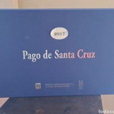 Coleccionismo de vinos y licores: CAJA PAGO DE SANTA CRUZ 2017, CARTÓN, CAJA VACIA. Lote 247172445