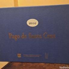 Coleccionismo de vinos y licores: PAGO DE SANTA CRUZ 2016, CAJA VACÍA. Lote 247187200