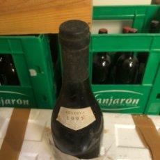 Coleccionismo de vinos y licores: VINO CONDE VALDEMAR, RESERVA 1995. Lote 247748090