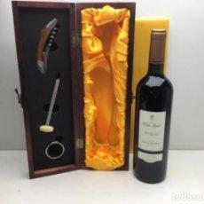 Coleccionismo de vinos y licores: VINO CLOS VIDAL - RESERVA 2002 PENEDES -BODEGA CAPITA VIDAL - CON ESTUCHE. Lote 248253125