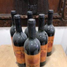 Coleccionismo de vinos y licores: LOTE DE 6 BOTELLAS GONZALO DE BERCEO, AÑO 89 (1) 97 (5). Lote 248997840
