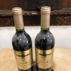 Coleccionismo de vinos y licores: RIOJA RESERVA AÑARES RESERVA 1999. Lote 248998295