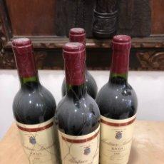 Coleccionismo de vinos y licores: MARTÍNEZ LA CUESTA RESERVA 1998, LOTE DE 4 BOTELLAS. Lote 248999150