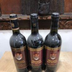 Coleccionismo de vinos y licores: MARQUÉS DE CÁCERES GRAN RESERVA LOTE DE 3 BOTELLAS, PERFECTAS. Lote 248999330