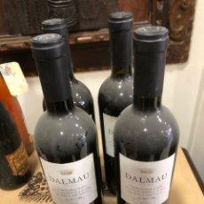 Coleccionismo de vinos y licores: LOTE DE 4 BOTELLAS DE DALMAU 2002, PERFECTAS. Lote 249082305