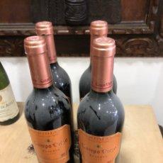 Coleccionismo de vinos y licores: LOTE DE 4 BOTELLAS CAMPOVIEJO RESERVA 1999. Lote 249083980