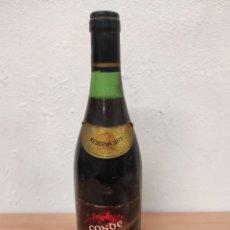 Coleccionismo de vinos y licores: VINO TINTO CONDE DE CARALT RESERVA 1973 SANT SADURNÍ DE NOYA ALTO PENEDÉS BARCELONA. Lote 251219400