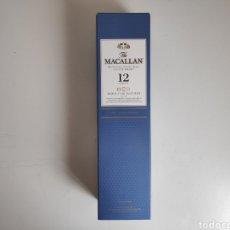 Coleccionismo de vinos y licores: CAJA VACIA WHISKY MACALLAN 12, TRIPLE CASK. Lote 255949385