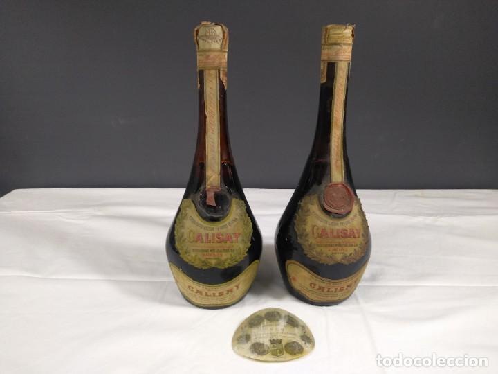 DOS BOTELLAS ANTIGUAS LICOR CALISAY (Coleccionismo - Botellas y Bebidas - Vinos, Licores y Aguardientes)