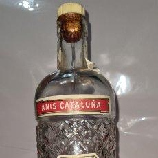 Coleccionismo de vinos y licores: ANTIGUA BOTELLA ANIS CATALUÑA DE JOSÉ MIRO.. Lote 260674440