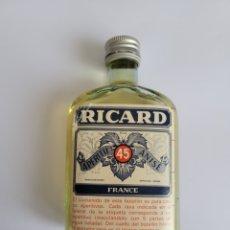 Coleccionismo de vinos y licores: BOTELLA 10 CL RICARD FRANCES (TOP). Lote 261900400