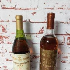 Coleccionismo de vinos y licores: BOTELLA DE VINO MARQUES DE MURRIETA YGAY. RESERVA 1990 Y EL DORADO DE MURRIETA, RESERVA 1987, PRECIN. Lote 262469610