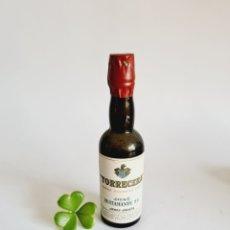 Coleccionismo de vinos y licores: BOTELLITA LA LIDIA GARVEY 13.3CM VIDRIO BOTELLIN. Lote 262930505