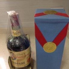 Collezionismo di vini e liquori: ANTIGUA BOTELLA BRANDY INDEPENDENCIA OSBORNE PUERTO DE SANTA MARÍA.PRECINTO 80 CENTIMOS. Lote 269059383