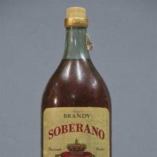 Coleccionismo de vinos y licores: BOTELLA. BRANDY SOBERANO GONZALEZ BYASS. Lote 269394793