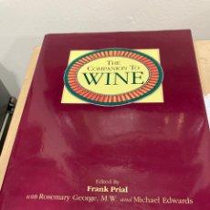 Coleccionismo de vinos y licores: MAGNIFICO LIBRO DE VINOS, EN INGLES. Lote 269823658