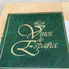 Coleccionismo de vinos y licores: MAGNIFICO LIBRO DE VINOS. Lote 269824413