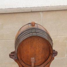 Coleccionismo de vinos y licores: BARRIL DE VINO. Lote 269835853