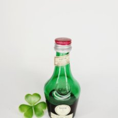 Coleccionismo de vinos y licores: BOTELLITA BENEDICTINE 9.9CM VIDRIO BOTELLIN. Lote 271695338