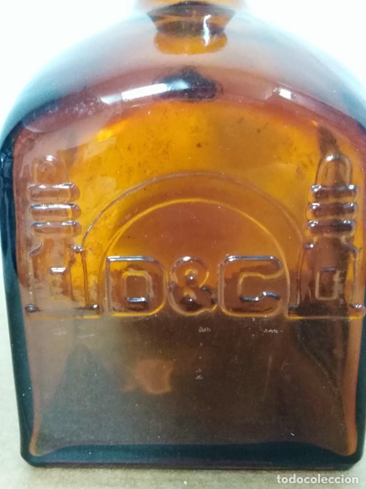 Coleccionismo de vinos y licores: Botella Licor de Whisky Gran DYC VACIA DECORACION RETRO VINTAGE - Foto 3 - 271911518