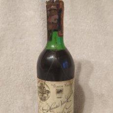 Colecionismo de vinhos e licores: BOTELLA VINO VIÑA TONDONIA 1981 DE LOPEZ HEREDIA. Lote 275590788