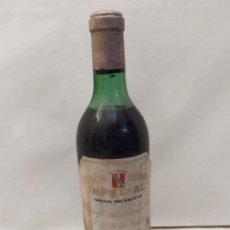 Colecionismo de vinhos e licores: BOTELLA DE VINO C.V.N.E. IMPERIAL. COSECHA 1956. HARO BILBAO. EMBOTELLADO EN BODEGA. 30CM. Lote 275856808