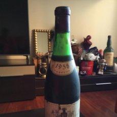 Coleccionismo de vinos y licores: DIFÍCIL BOTELLA VINO CARLOS SERRES RESERVA ESPECIAL 1958,MUY DIFÍCIL ENCONTRAR. Lote 275988738