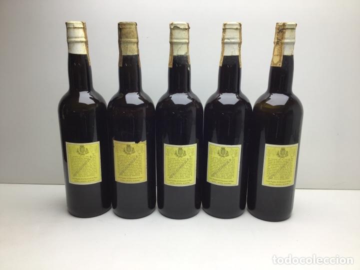 Coleccionismo de vinos y licores: LOTE DE MANZANILLA POCHOLA -DOMECQ - MIRAR FOTOS DE NIVEL - VIÑAS MACHARNUDO - Foto 4 - 276052453