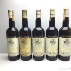 Coleccionismo de vinos y licores: LOTE DE MANZANILLA POCHOLA -DOMECQ - MIRAR FOTOS DE NIVEL - VIÑAS MACHARNUDO. Lote 276052453