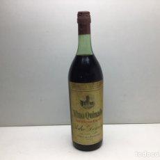 Coleccionismo de vinos y licores: VINO QUINADO PEDRO DOMECQ - JEREZ - TONICO RECONSTITUYENTE - VIÑAS MACHARNUDO. Lote 276054893