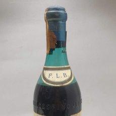 Colecionismo de vinhos e licores: BOTELLA DE COÑAC VALDESPINO JEREZ - GRAN PREMIO MADRID 1907 .. Lote 277063198