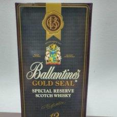 Coleccionismo de vinos y licores: BOTELLA DE BALLANTINES GOLD SEAL. Lote 277185938
