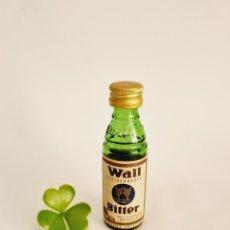 Colecionismo de vinhos e licores: BOTELLITA WALL BITTER 8.9CM VIDRIO BOTELLIN. Lote 277420778