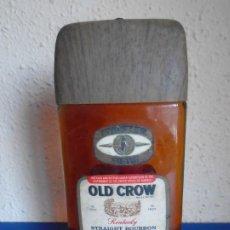 Coleccionismo de vinos y licores: (LI-210703)BOTELLA ANTIGUA DE BOURBON WHISKEY OLD CROW. Lote 278174858