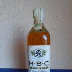 Coleccionismo de vinos y licores: (LI-210704)BOTELLA SCOTCH WHISKY H.B.C SCOTLAND % YEARS. Lote 278175388