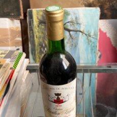 Coleccionismo de vinos y licores: BOTELLA DE VINO FRANCÉS CHATEAU PAVILLON FIGEAC, 1979. Lote 285677363