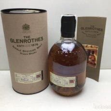 Coleccionismo de vinos y licores: BOTELLA WHISKY GLENROTHES 1987 - EMBOTELLADA EN 1999 - CAJA ORIGINAL. Lote 287688918