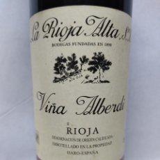 Coleccionismo de vinos y licores: VINO TINTO LA RIOJA ALTA S.A. VIÑA ALBERDI COSECHA 1994 RIOJA.. Lote 287771318