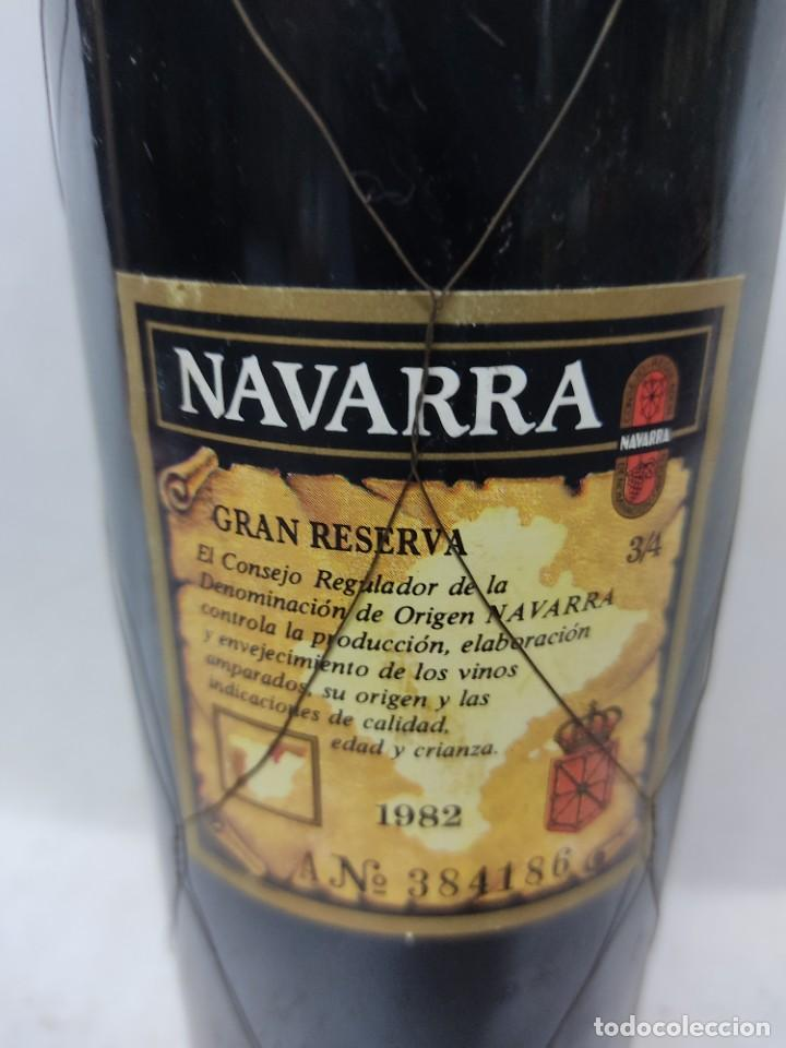 Coleccionismo de vinos y licores: BOTELLA DE VINO TINTO GRAN RESERVA SEÑORIO DE SARRIA 1982.NAVARRA.PUENTE LA REINA - Foto 4 - 287774953