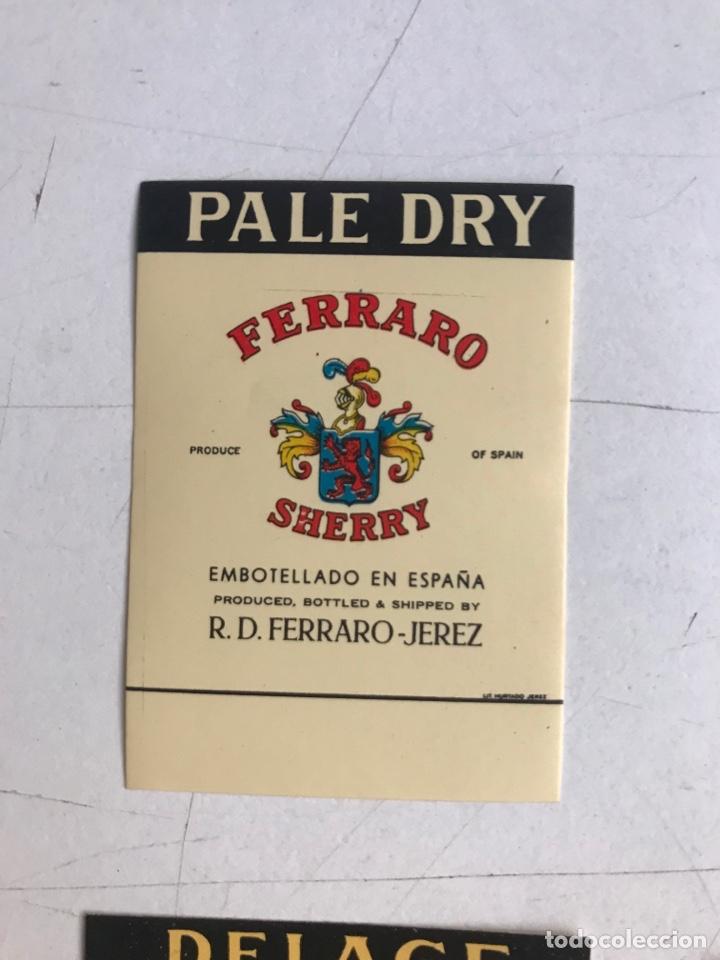 Coleccionismo de vinos y licores: 21 ETIQUETAS DIFERENTES LICOR, BRANDY, JEREZ, VERMUT DE SANLUCAR DE BARRAMEDA Y JEREZ DE LA FRONTERA - Foto 2 - 287837788