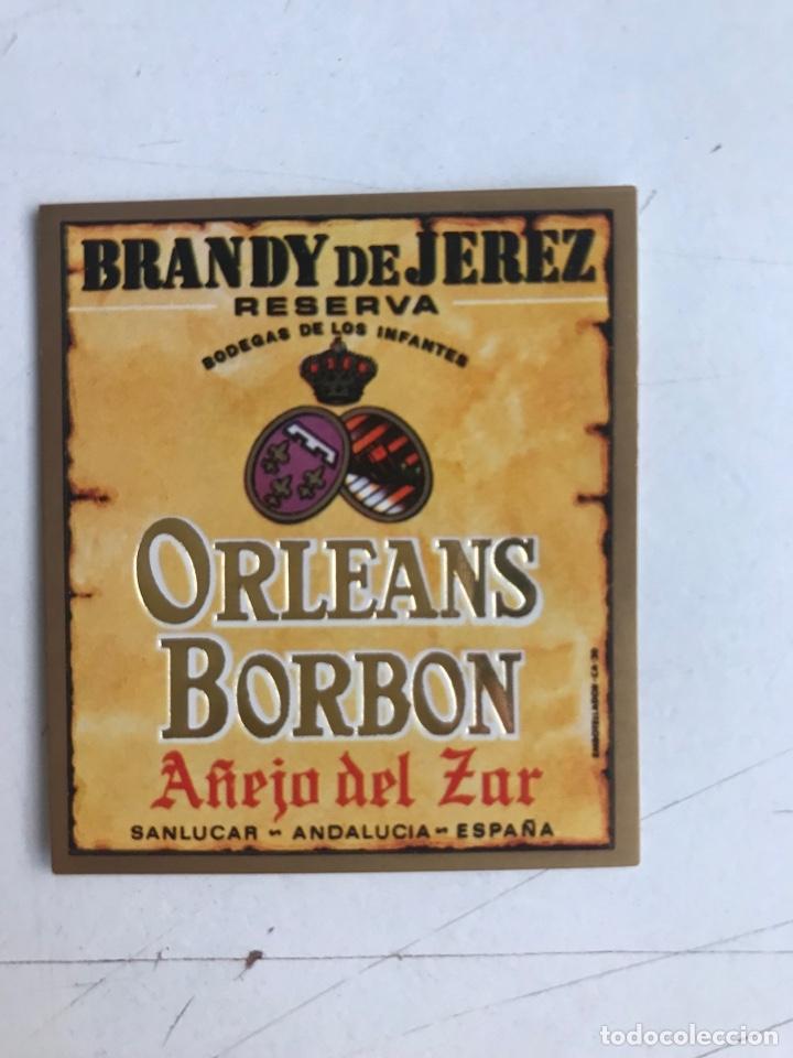 Coleccionismo de vinos y licores: 21 ETIQUETAS DIFERENTES LICOR, BRANDY, JEREZ, VERMUT DE SANLUCAR DE BARRAMEDA Y JEREZ DE LA FRONTERA - Foto 3 - 287837788
