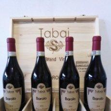 Coleccionismo de vinos y licores: 4 BOTTIGLIE DI BAROLO TABAI EDIZIONE LIMITATA CHANEL 2016. Lote 288509303