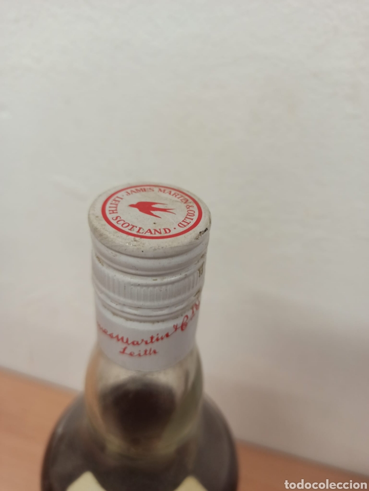 Coleccionismo de vinos y licores: lote de 3 botellas de Licor 43 , whisky Martíns , y estomacal precintadas sin uso - Foto 2 - 288557488