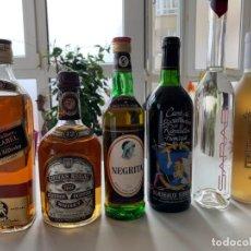 Collectionnisme de vins et liqueurs: BOTELLAS VARIADAS Y EXÓTICAS. Lote 288573353